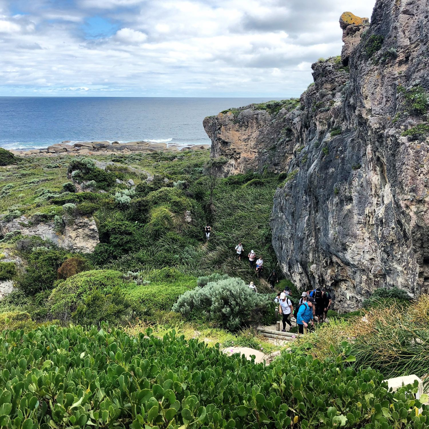 Charity hike Cape to Cape Walk into Luxury