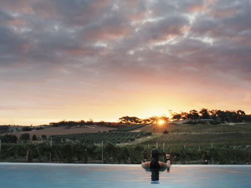 The Louise infinity edge pool Photographer Extramile Pictures