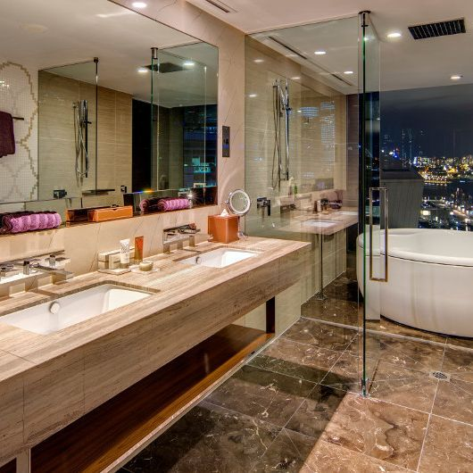 The darling adored suite bathroom